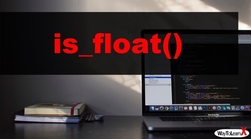 PHP is_float