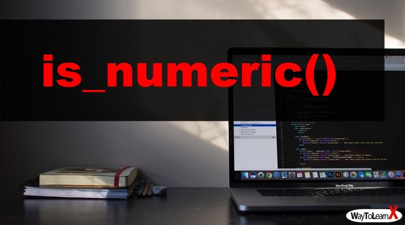 PHP is_numeric