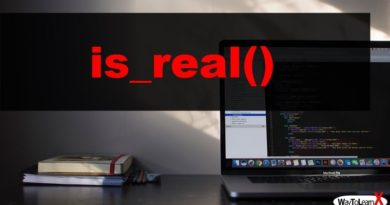 PHP is_real