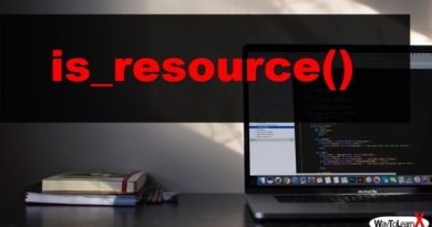 PHP is_resource