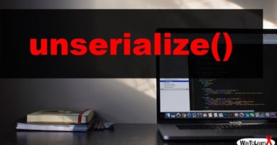 PHP unserialize