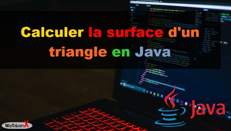 Calculer la surface d'un triangle en Java