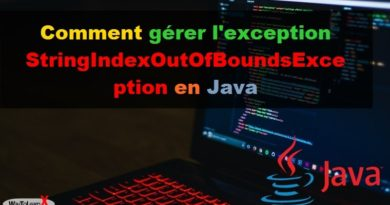 Comment gérer l'exception StringIndexOutOfBoundsException en Java