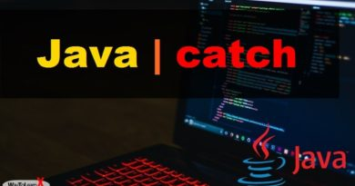 Java - catch