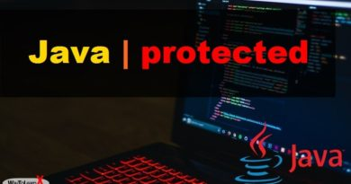 Java protected