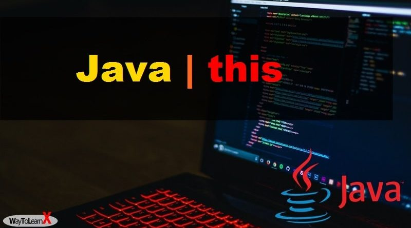 Java this