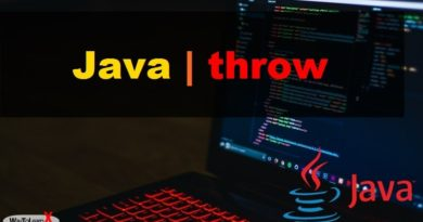 Java throw