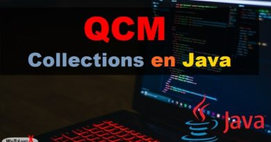 QCM Java - Les collections
