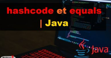 hashcode et equals - Java