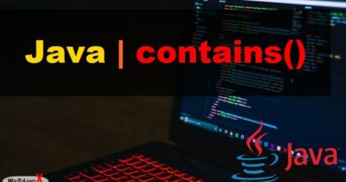 java contains