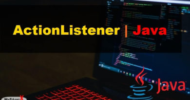 ActionListener Java