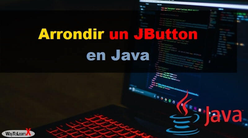 Arrondir un JButton en Java