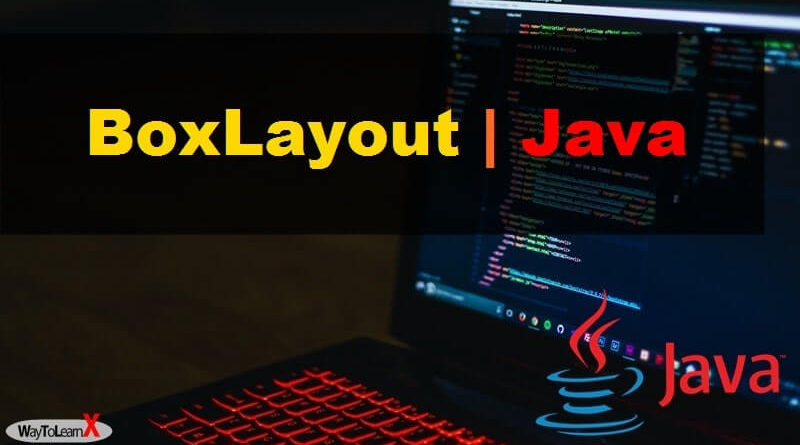 BoxLayout java swing