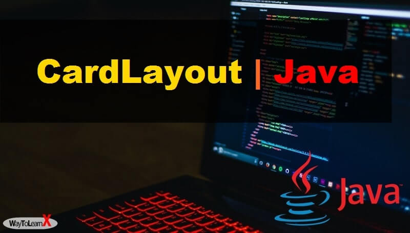 CardLayout java swing