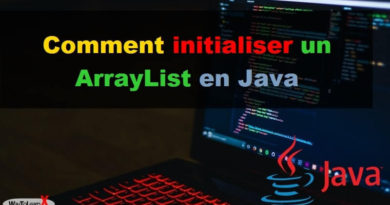 Comment initialiser un ArrayList en Java
