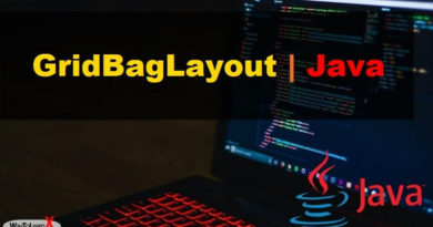 GridBagLayout java swing