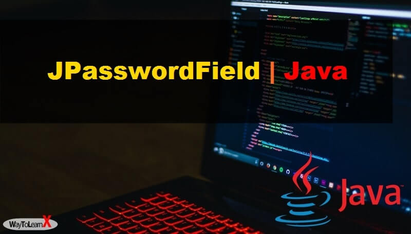 JPasswordField Java Swing