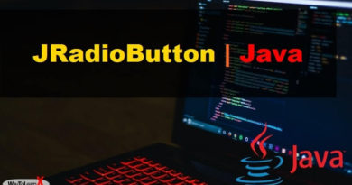 JRadioButton - Java