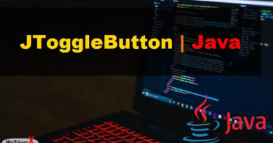 JToggleButton java swing