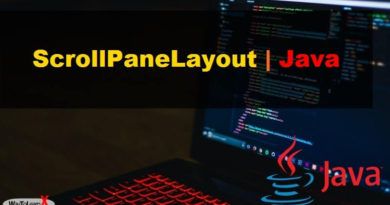ScrollPaneLayout java swing