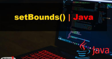 setBounds en Java