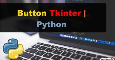 Button Tkinter Python