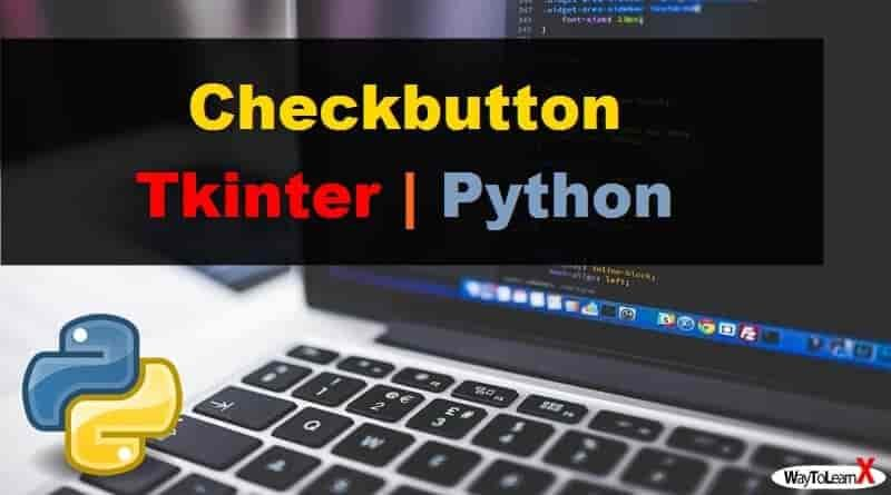 Checkbutton Tkinter Python