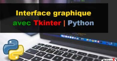 Interface graphique avec Tkinter Python