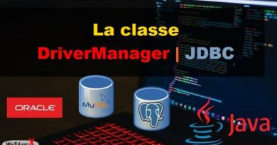 La classe DriverManager java jdbc