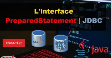 L'interface PreparedStatement JDBC - Java