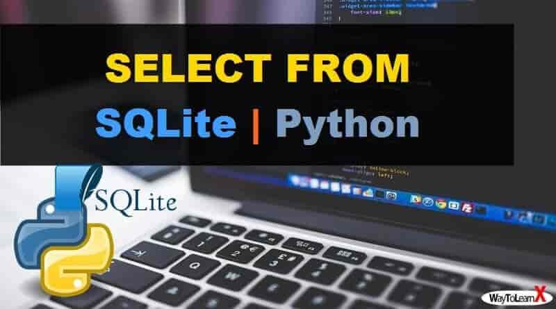 SELECT FROM Python - SQLite