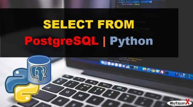 SELECT FROM avec Python - PostgreSQL