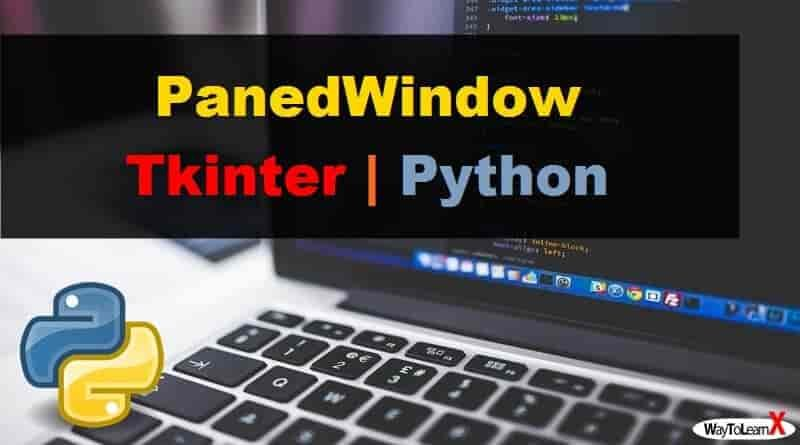 PanedWindow Tkinter Python 3