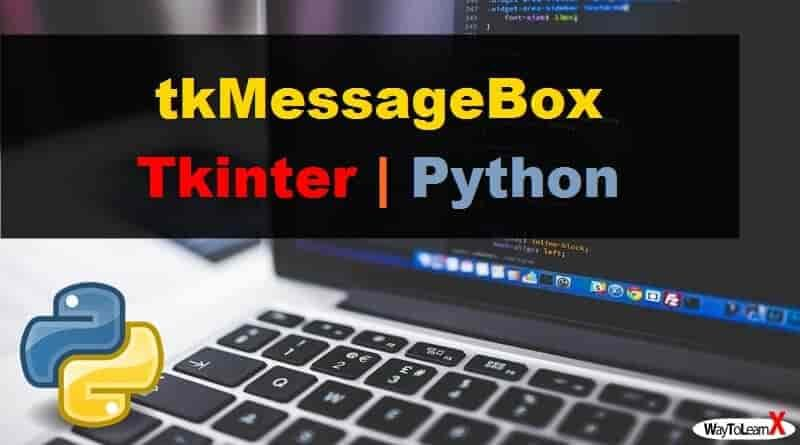 tkMessageBox Tkinter Python 3